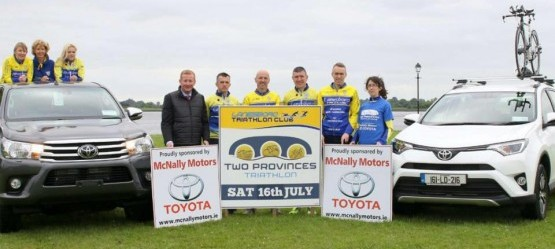 Two Provinces Triathlon with McNally Motors, Longford